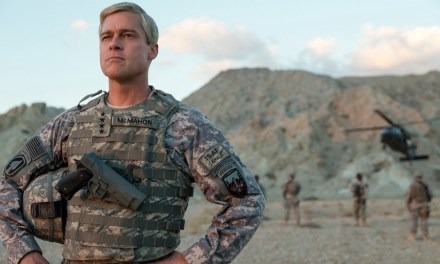Brad Pitt Gets Ready For Battle In WAR MACHINE Trailer