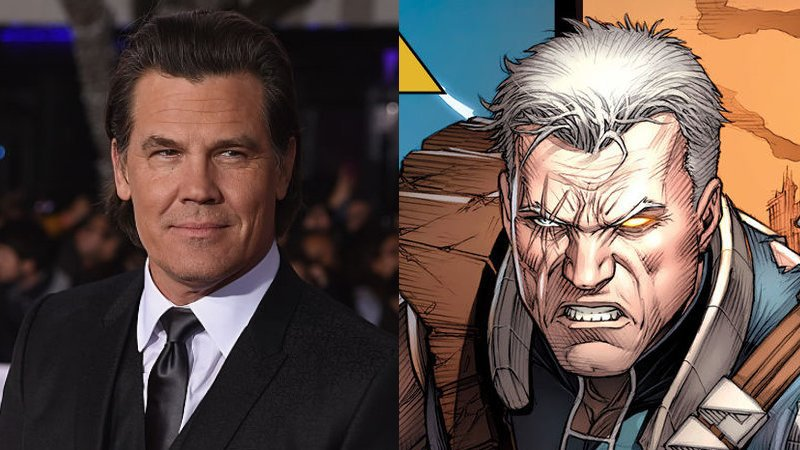 Josh Brolin Hitting The Gym For Cable In DEADPOOL 2