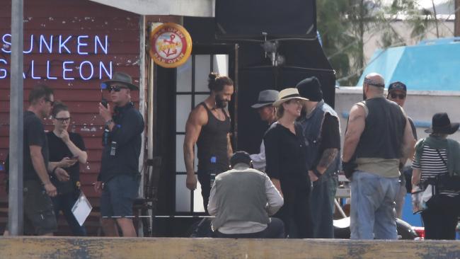 Aquaman BTS Set Photo 1