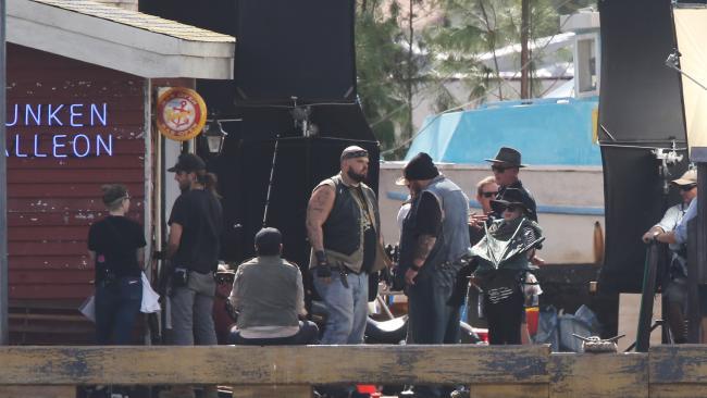 Aquaman BTS Set Photo 2