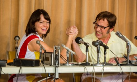 Emma Stone, Steve Carell Duke It Out In First BATTLE OF THE SEXES Trailer