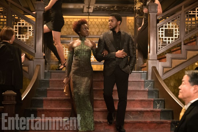 EW Black Panther cover
