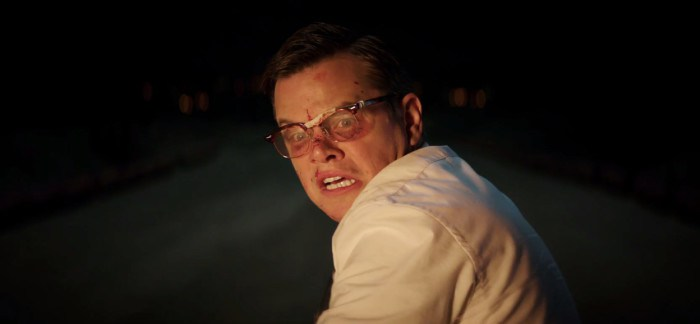 Matt Damon Going After The Mob in SUBURBICON Trailer