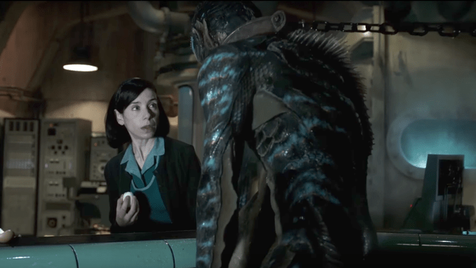 First Film Clip For Guillermo Del Toro's THE SHAPE OF WATER