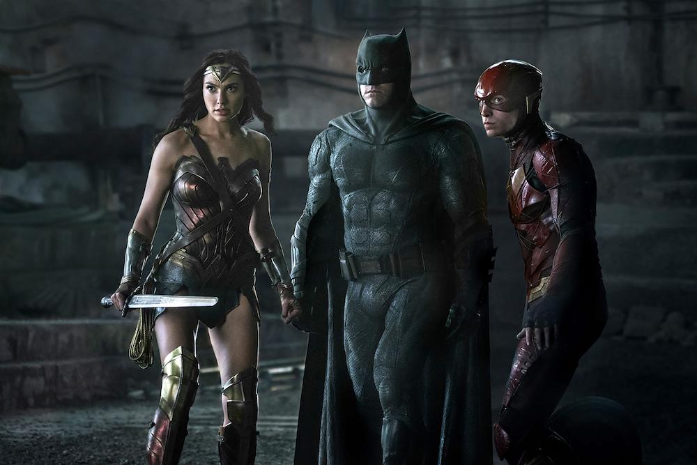 Justice League - Wonder Woman - Batman - The Flash