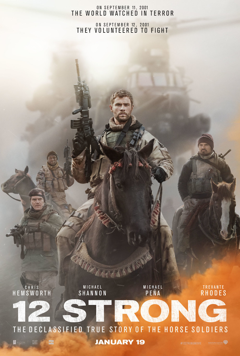 New Poster And Trailer For Hemsworth S 12 Strong Released
