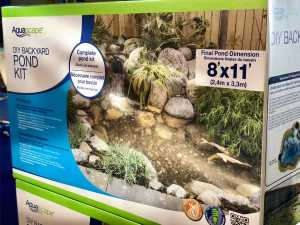 DIY Pond Kit Cost