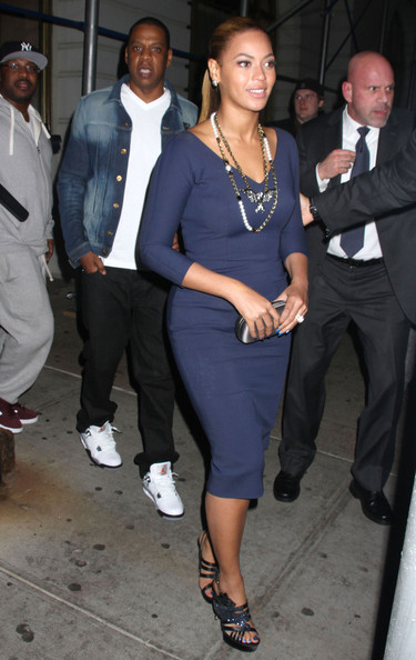 Jay Z Out With Beyonce Rocking Air Jordan 4 IV Cements