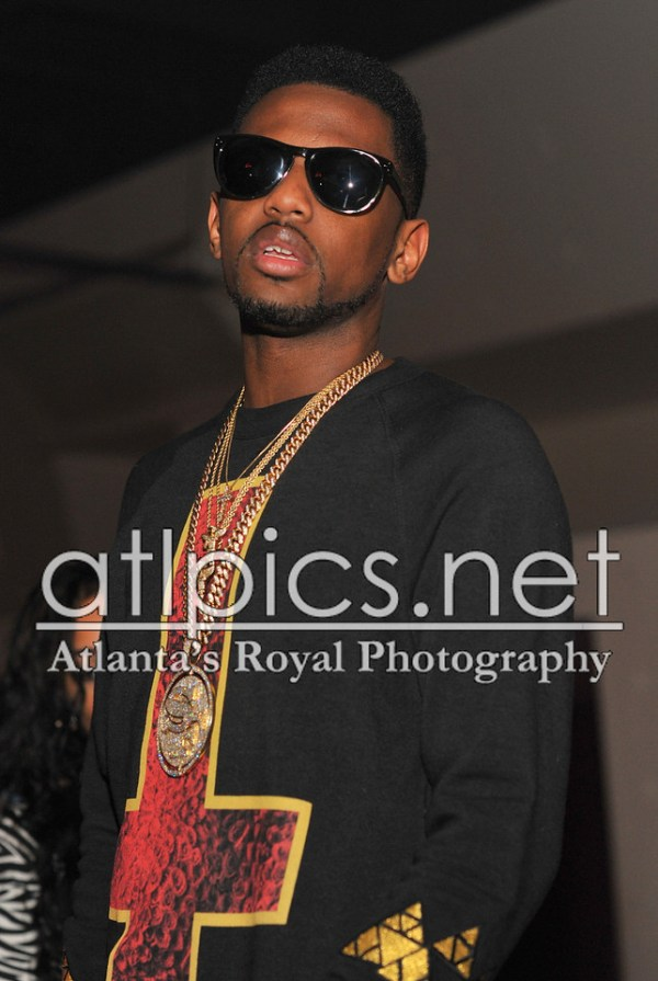 Fabolous Wearing Street Family Chain Air Jordan 3 Joker
