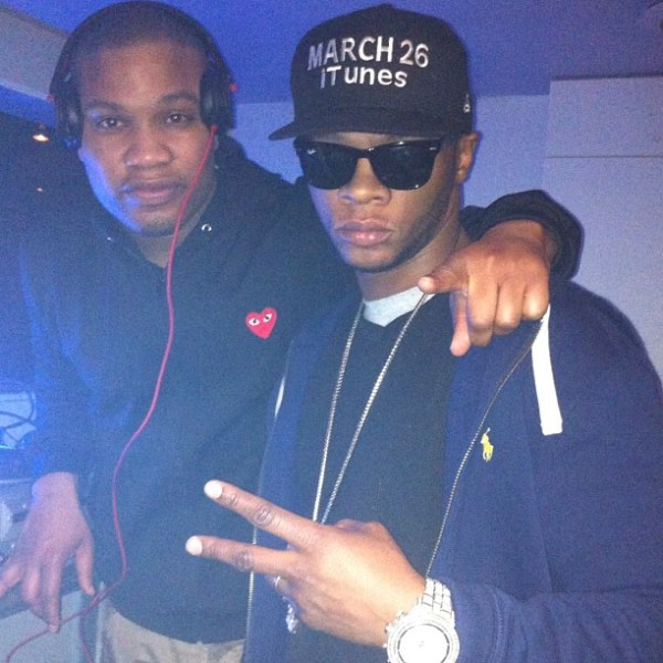 Papoose Wearing Nike Air Foamposite One White Out