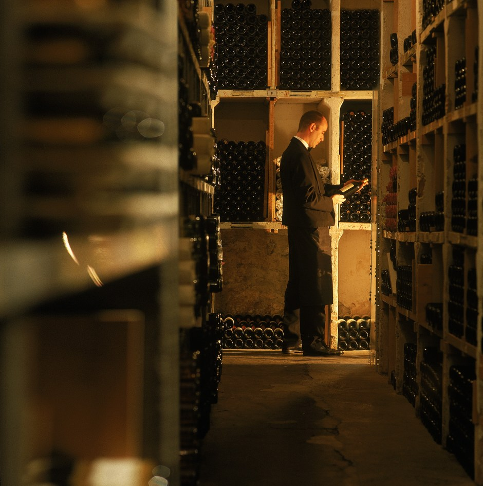 Beau-Rivage Palace - wine cellar