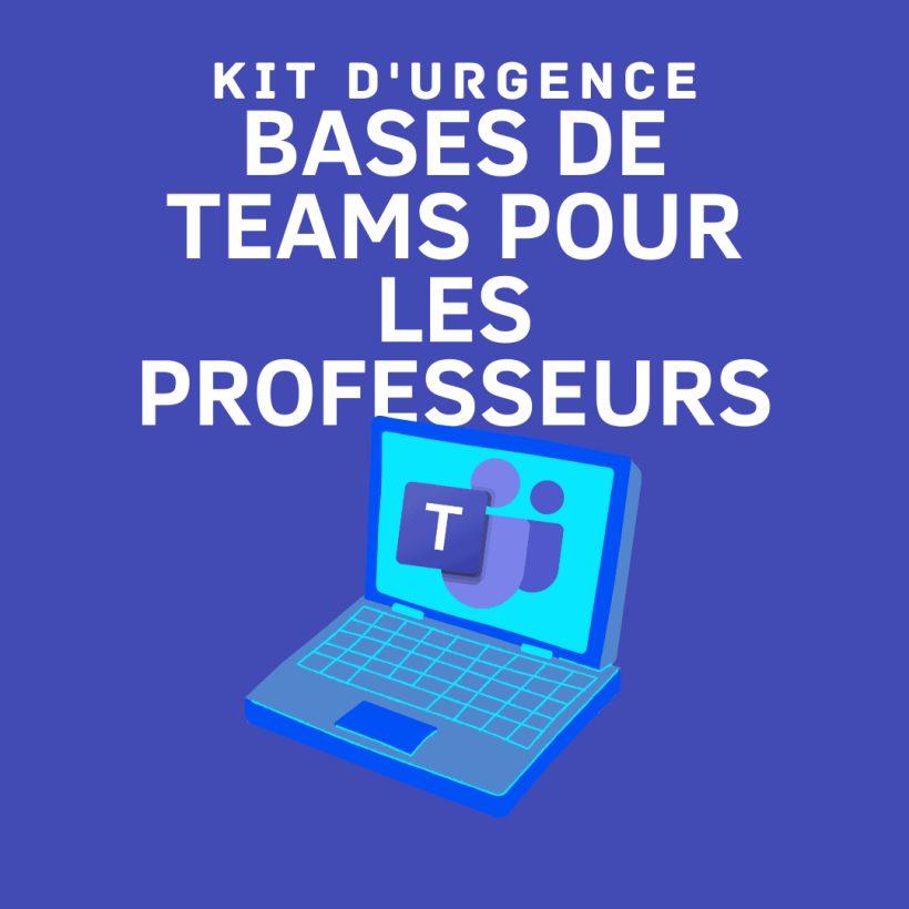 KIT d'urgence Teams