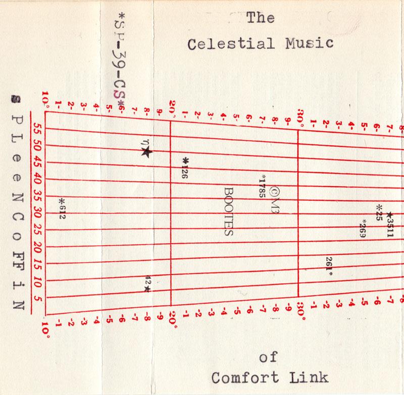 The Celestial Sounds of Comfort Link cassette