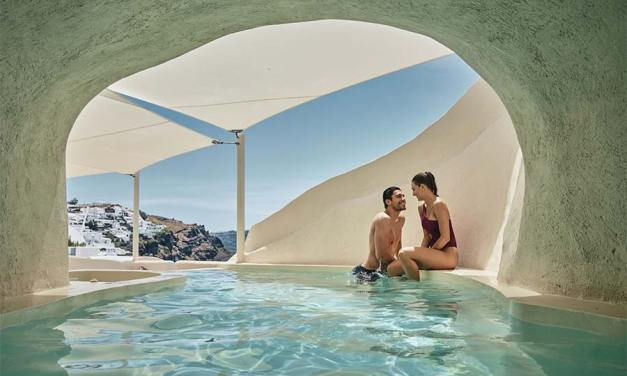 Santorini Wellness Oasis at Mystique in partnership with OPO App
