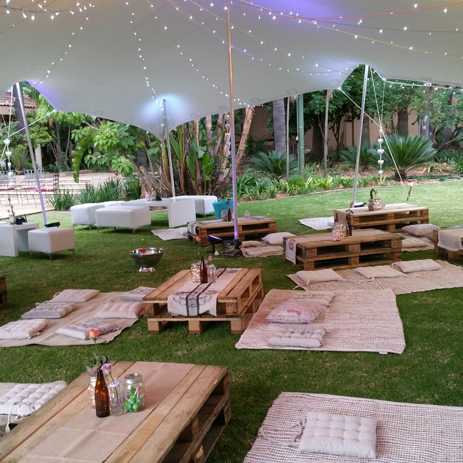 Bohemian Garden Party Decor - Splendid Experiences on Backyard Decor  id=91196