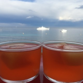 Peach nectar cubed, how to chill your Aperol Spritz's and Bellini's with ease…
