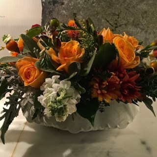 Floral inspiration for your Thanksgiving Table…