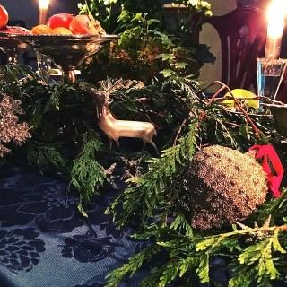 Christmas dinner…