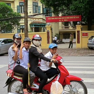 Getting around in Hanoi….