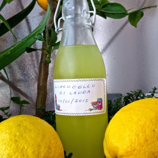 When life gives you lemons, make lemoncello…