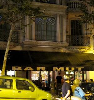 Bar Mut, welcome to Barcelona…