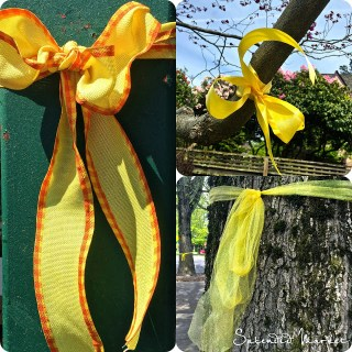 tie a yellow ribbon for those missing in Nepal….
