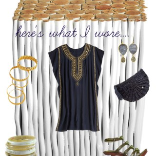 The Grecian goddess dress…