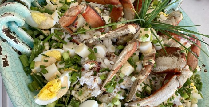 Crab Louie with homemade Thousand Island Dressing…