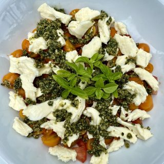 Salade Caprese…