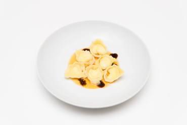 Tortelli Parmigiano, Pomodori, Balsamico