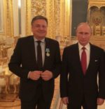 Putinov red prijateljstva Jankoviću in Kopač Mrakovi