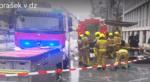 Zaradi nenavadne snovi gasilci in reševalci v DZ