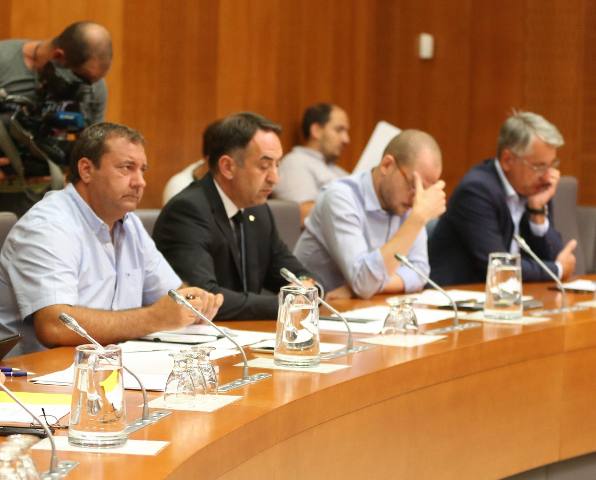 Koalicija šestih strank nespretno odstavlja Tonina