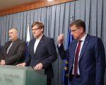 Möderndorferju spet povišica za boj proti SDS, koalicija hoče več vladnih sekretarjev