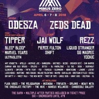 Minus Zero Festival Announces Complete Music Lineup for Fourth Annual Event