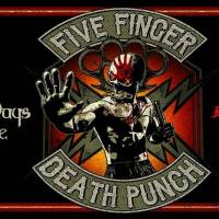 Five Finger Death Punch, Three Days Grace, Bad Wolves and Fire From The Gods Come To Hertz Arena