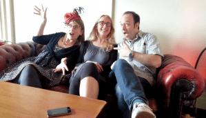 Sarah, Maeve and Alan