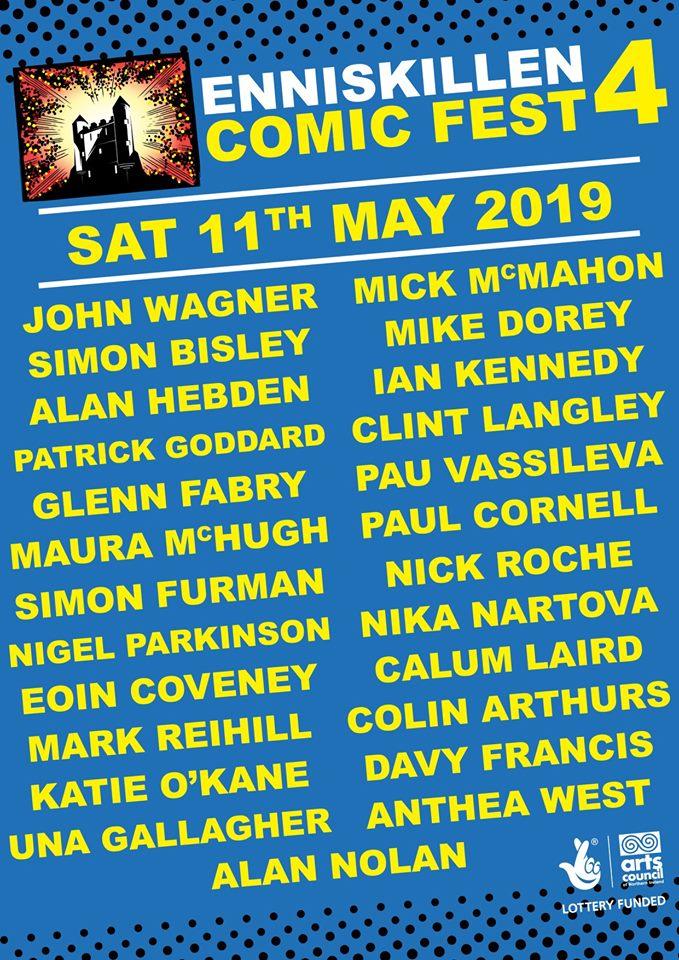 Enniskillen 2019 lineup