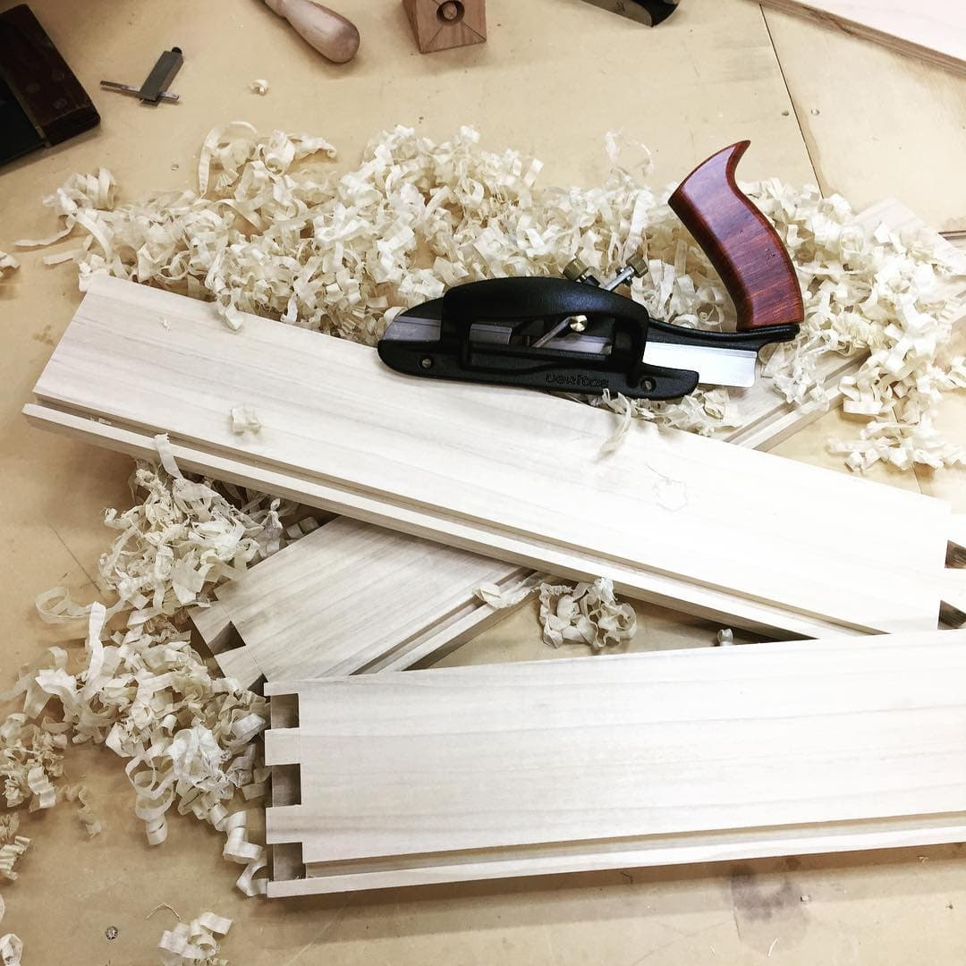 Hand plane and shavings