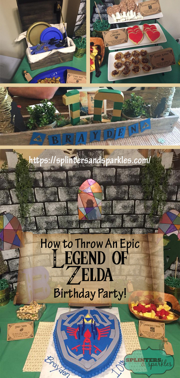 How To Throw An Epic Legend Of Zelda Birthday Party
