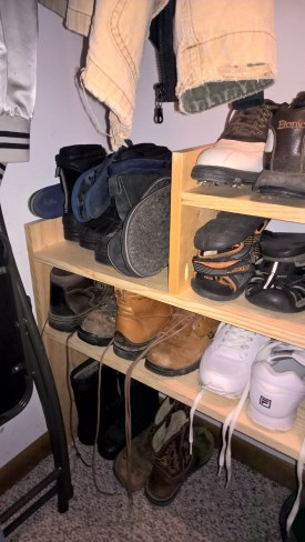 Shoe Rack Left side