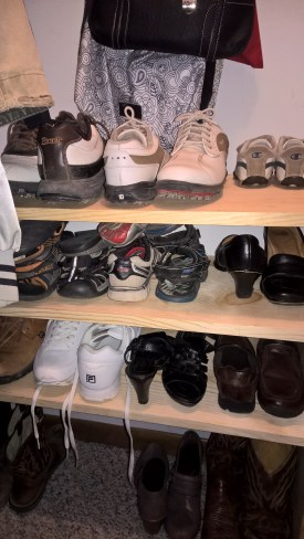 Shoe Rack Right Side