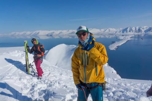 Andrew Esienstark one of the Ice Axe guides who's been on these trips everywhere for last 4 years