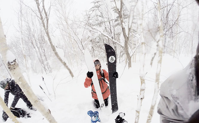 Burton Rider Kimmy Fasani on a split mission in Japan Source: Burtongirls.com