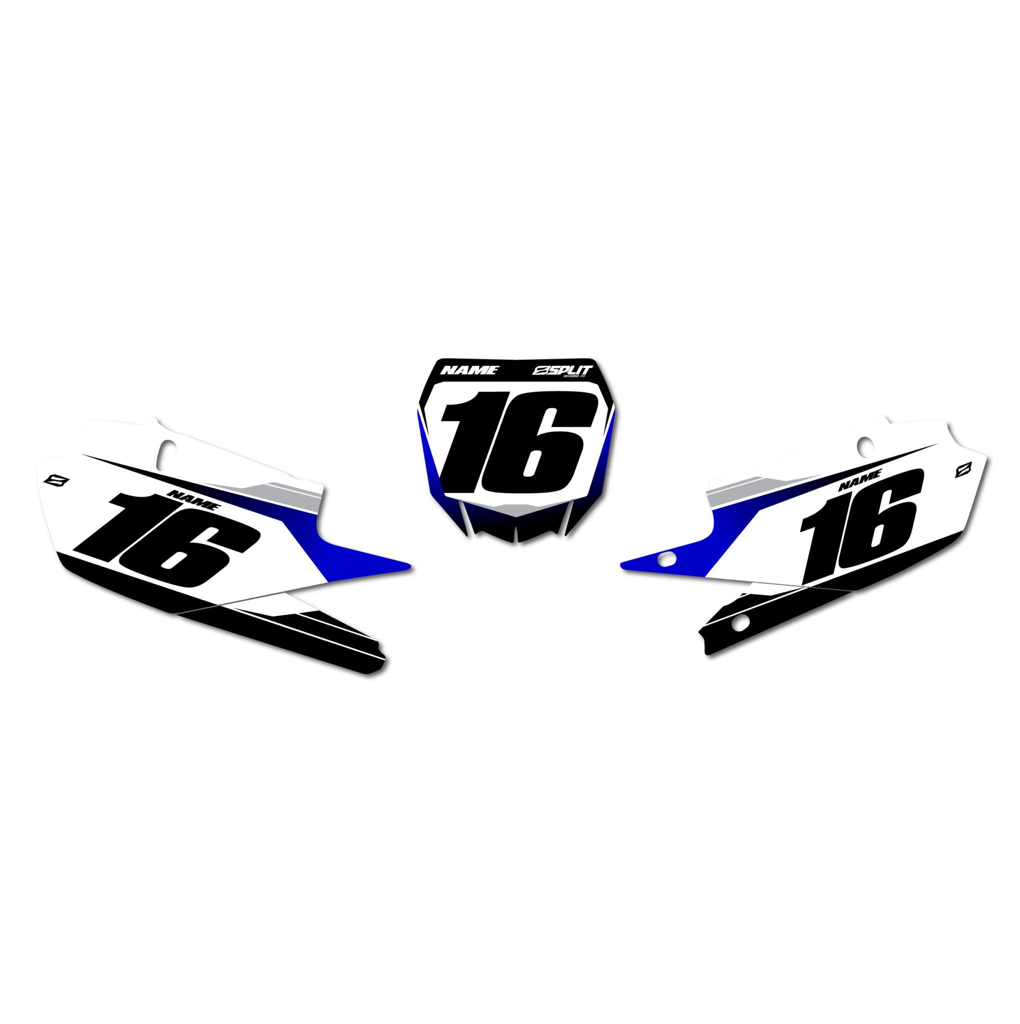 Yamaha Factory Number Boards Split Designs Co