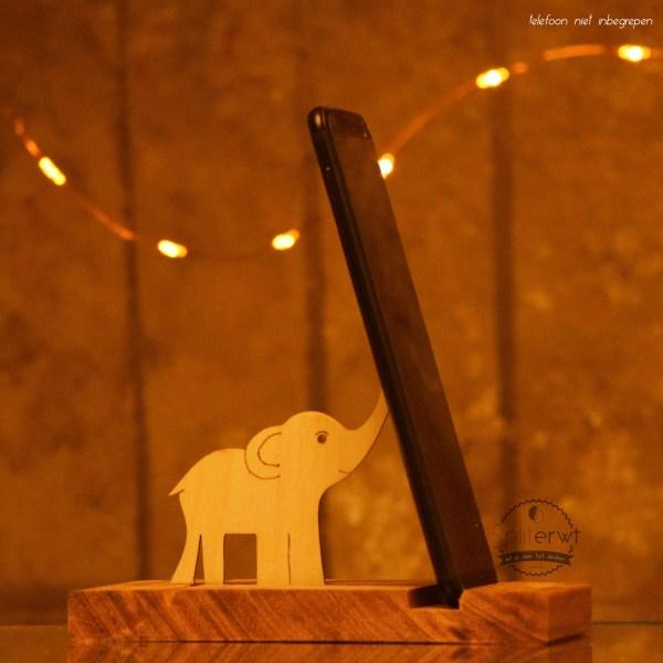 telefoonhouder olifant