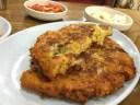 Mug-bean Pancake with Pork.