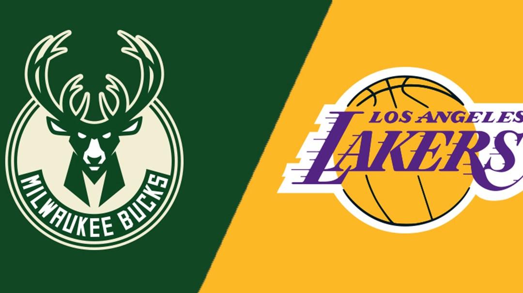 Tonight's NBA LOCK OF THE CENTURY: Bucks & Lakers