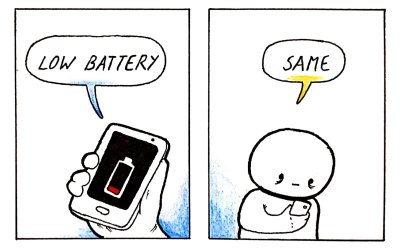 A Recharge of the Batteries