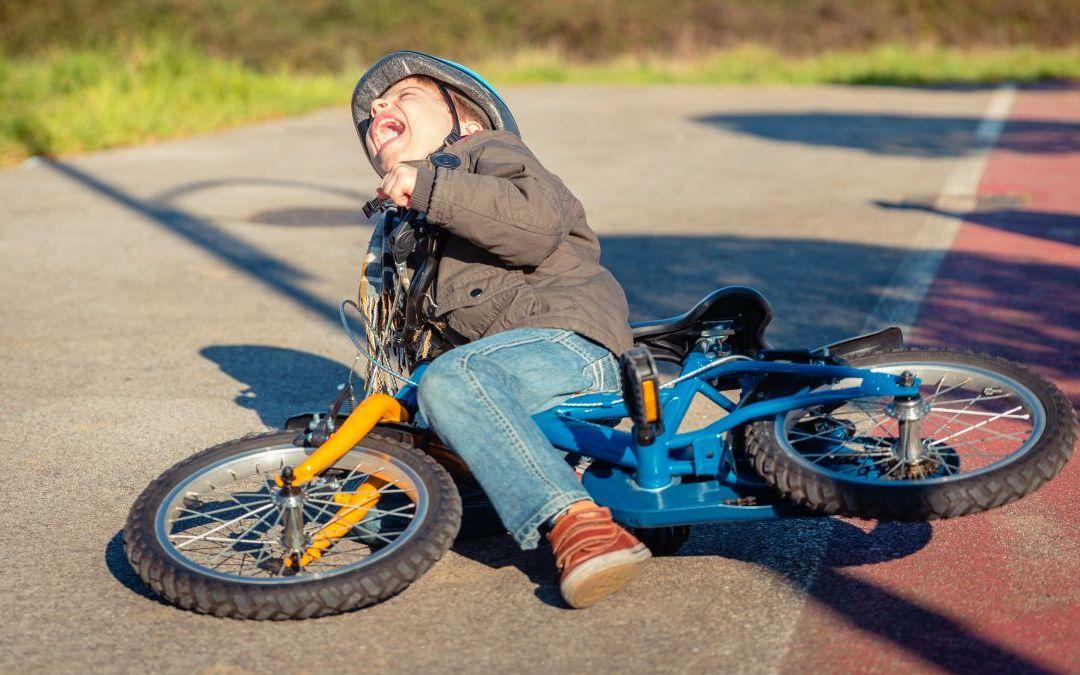 I Just Hit a Car on my Bike